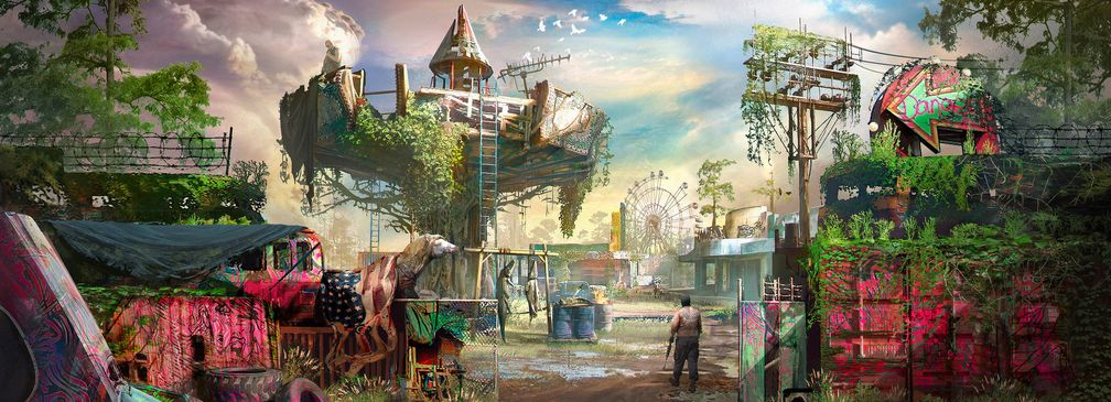 Verlassener Freizeitpark (Far Cry New Dawn)