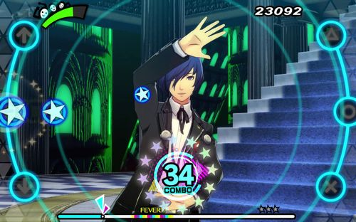 Protagonist tanzt (Persona 3: Dancing in Moonlight)