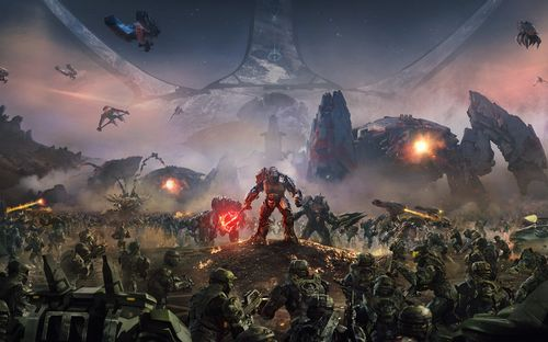 Key Art (Halo Wars 2)
