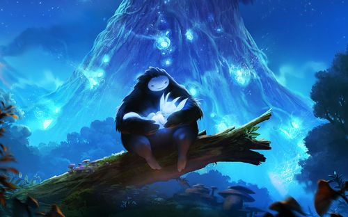 Key Art (Ori and the Blind Forest)