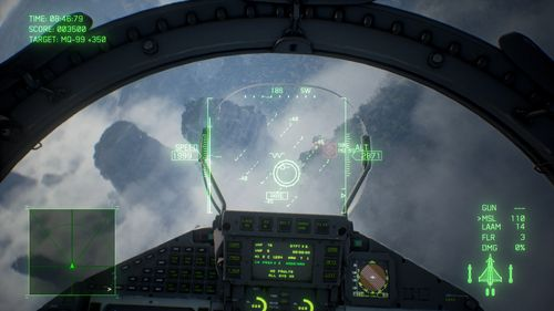 Aus dem Cockpit (Ace Combat 7: Skies Unknown)