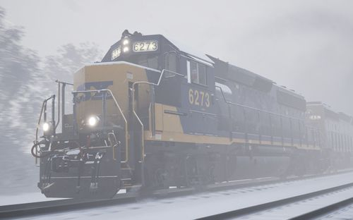 GP40-2 von vorne (Train Sim World)